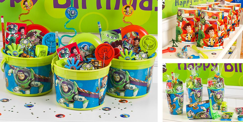 Party Favor Toys : Toy story party favors â  stickers tattoos toys