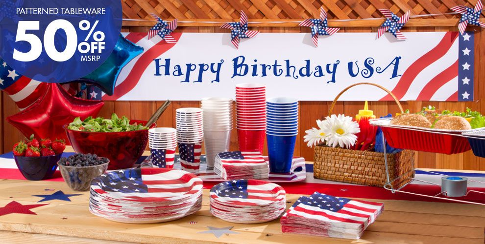 Flying Colors Patriotic Party Supplies