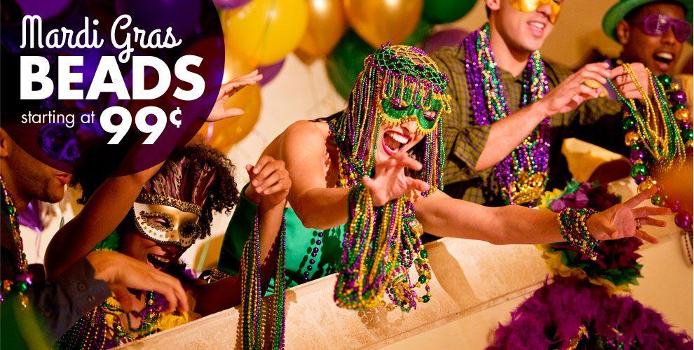 Mardi Gras Beads #1