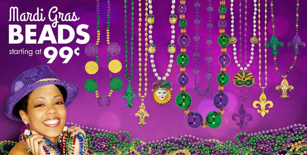 Mardi Gras Beads #2