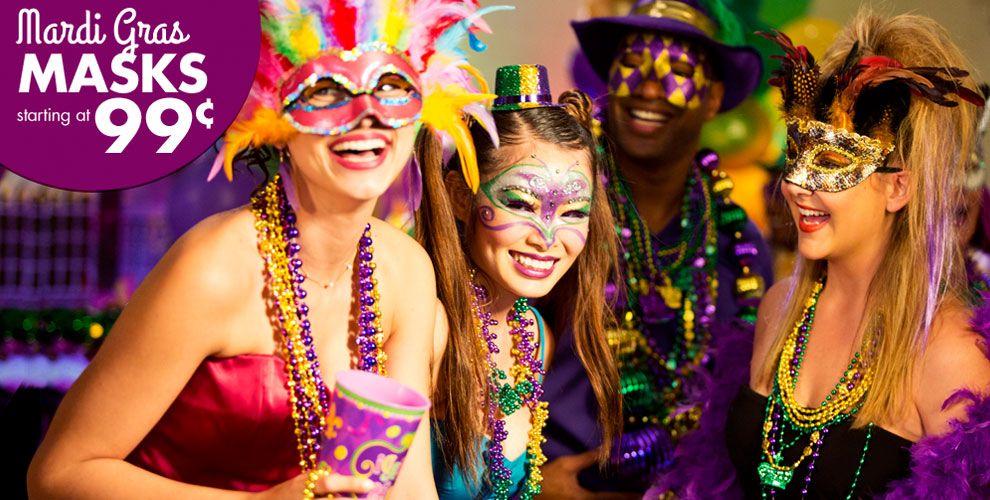 Mardi Gras Masquerade Masks