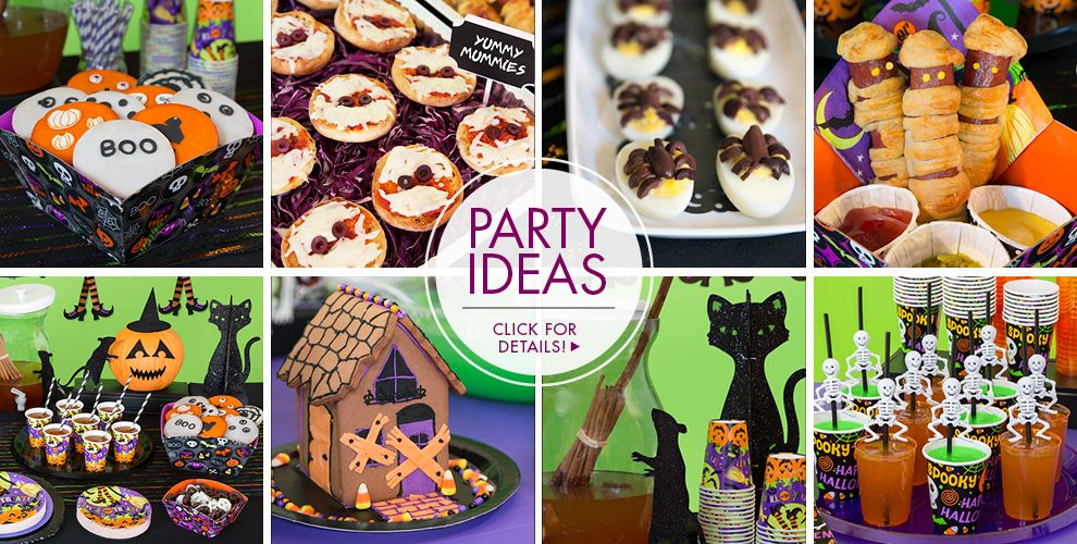 Spooktacular halloween party supplies party city for Halloween party favor ideas