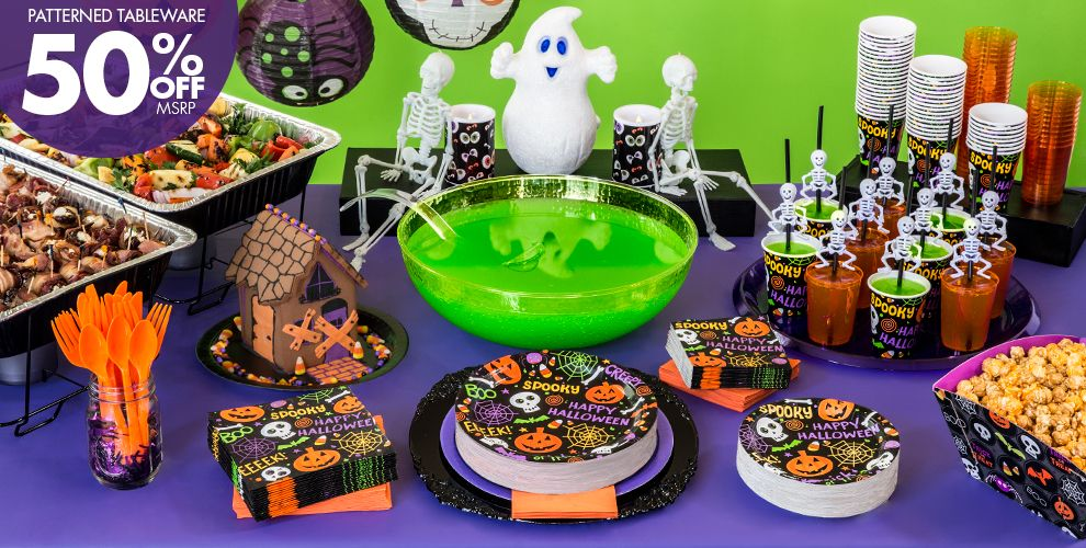 spooktacular halloween party supplies - Halloween Party Supplies