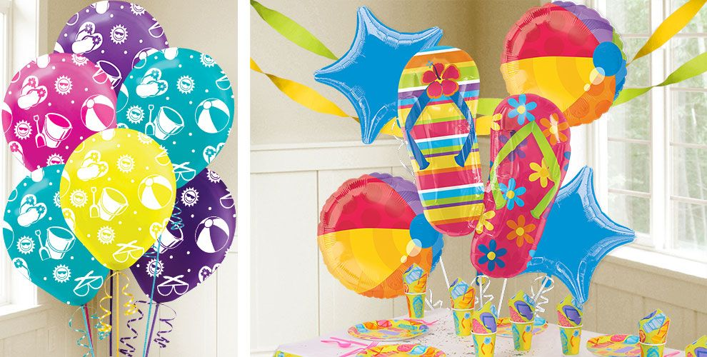 Balloons 2 Solid Color Balloons 3 Balloon Accessories 4 Helium Tanks