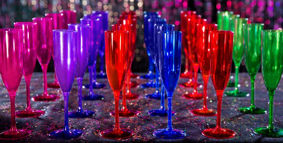 Bright New Year Party Supplies