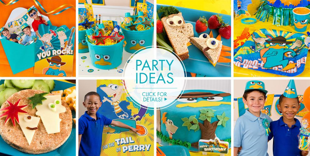 Phineas and Ferb – Party Ideas