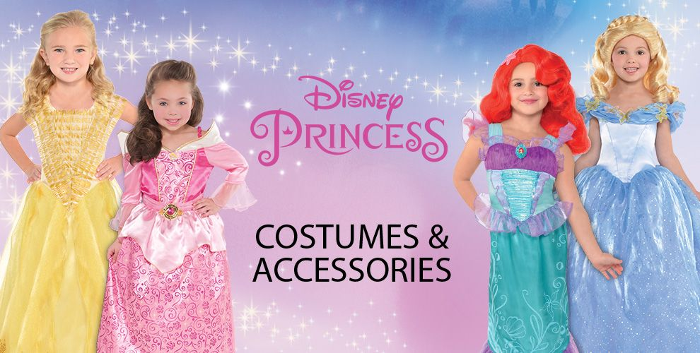 Disney Princess Party Supplies – Costumes