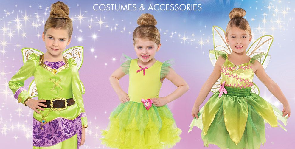 Tinkerbell Party Supplies – Costumes