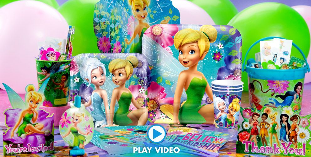 Tinkerbell Party Supplies #1