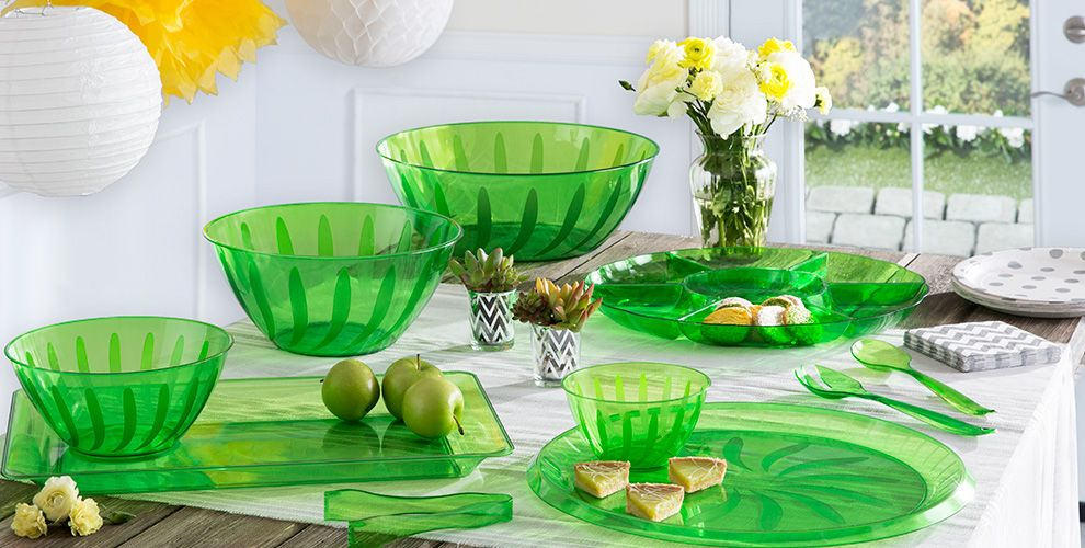 Kiwi Solid Color Tableware
