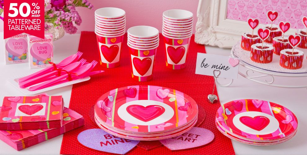 Candy Hearts Party Supplies