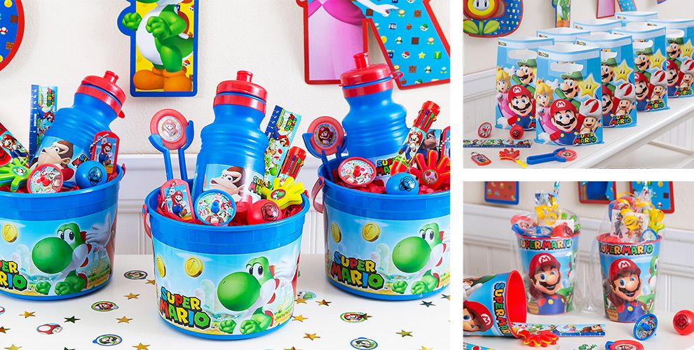 Super Mario Party Favors