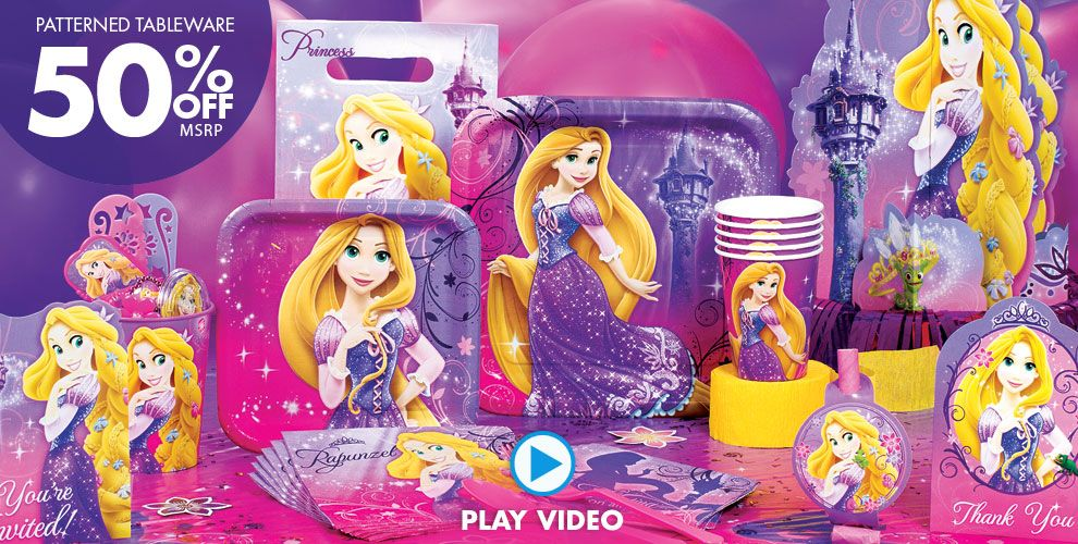 Tangled Party Supplies #1