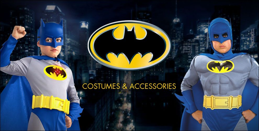 Batman Party Supplies – Shop Costumes