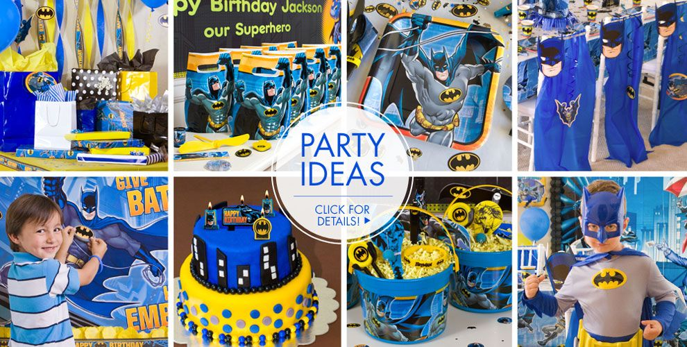 Batman Party Supplies – Party Ideas