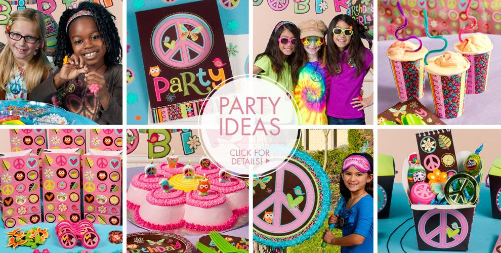 Hippie Chick Birthday – Party Ideas