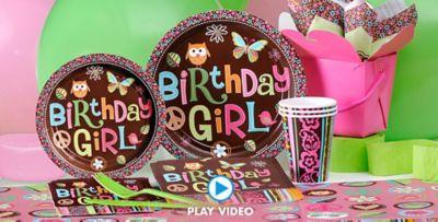 Hippie Chick Birthday Party Supplies Hippie Chick Birthday