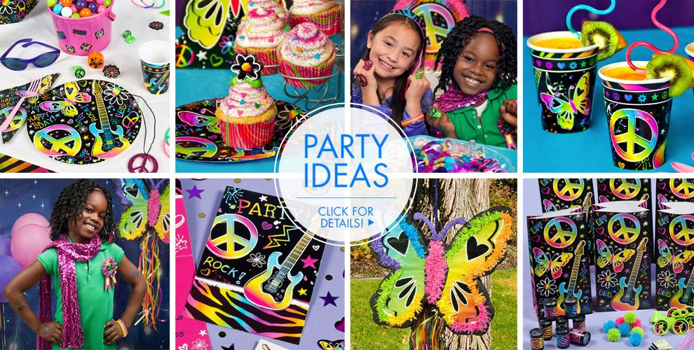 Neon Doodle – Party Ideas