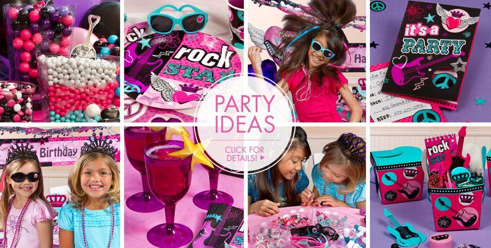 Rocker Girl Party Supplies – Party Ideas