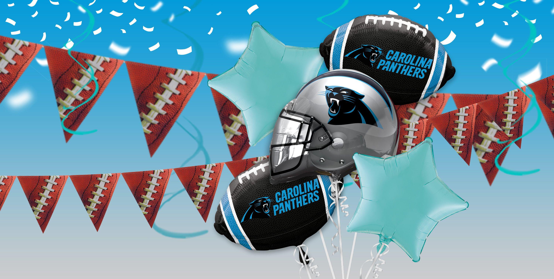 NFL Carolina Panthers Party Supplies