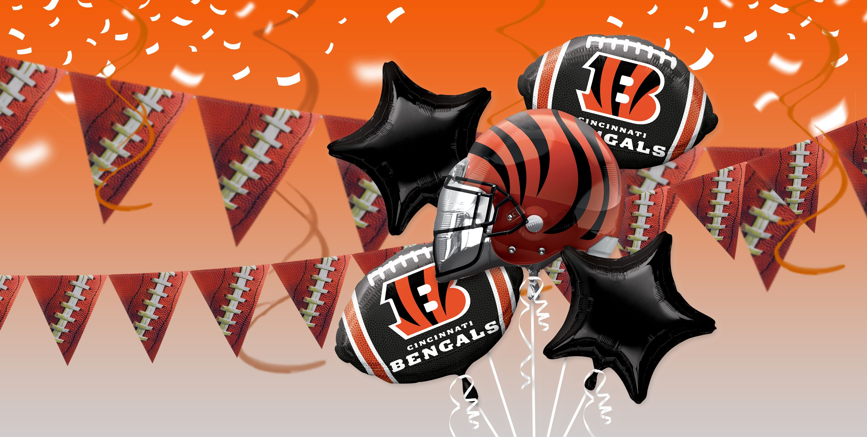 NFL Cincinnati Bengals Party Supplies