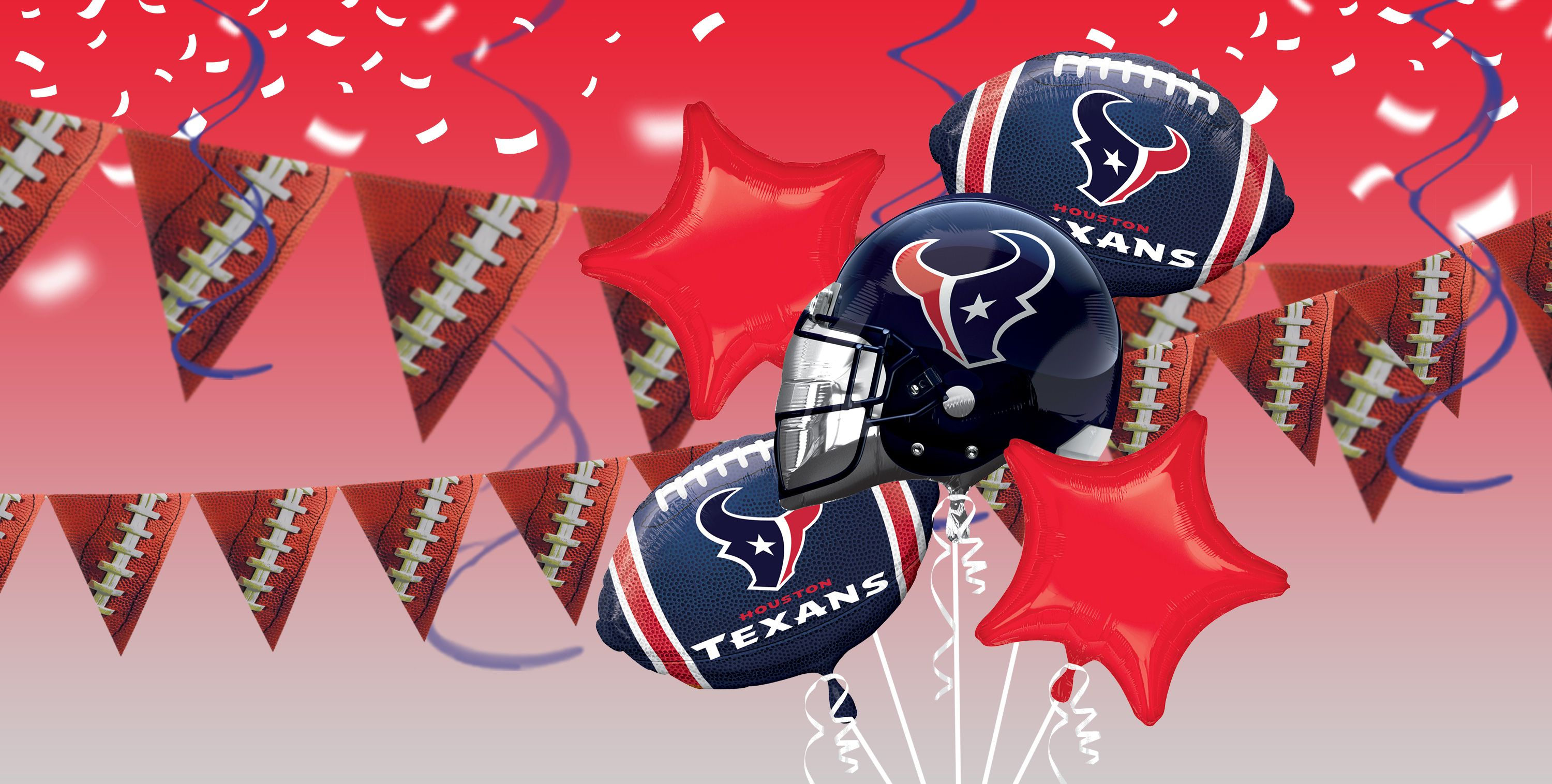 NFL Houston Texans Party Supplies