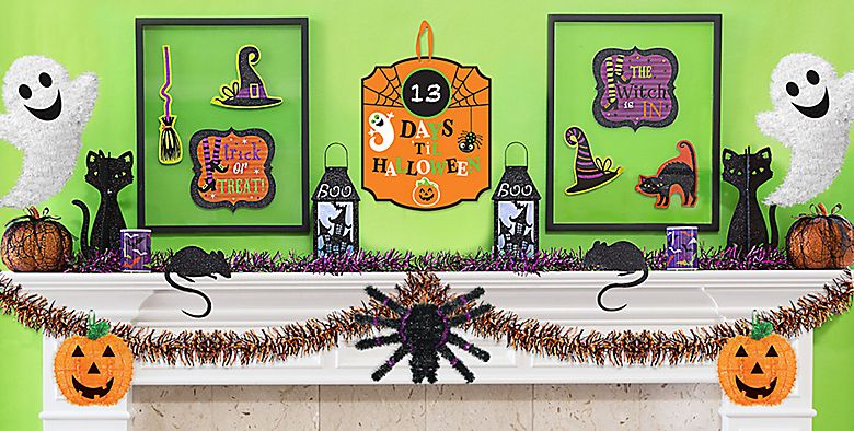 Halloween Wall & Window Decorations