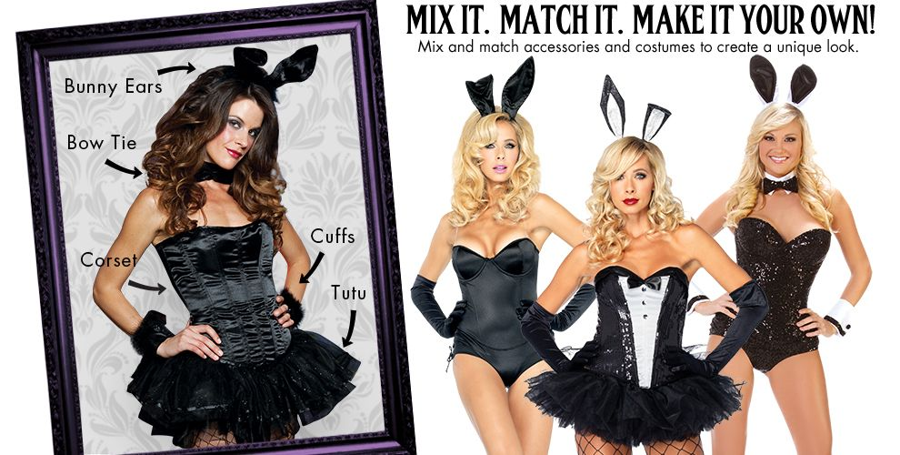 Bombshell Bunny Womens Mix & Match #1