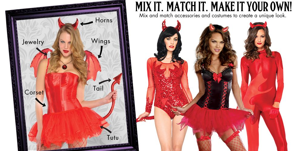 Red Devil Womens Mix & Match #1