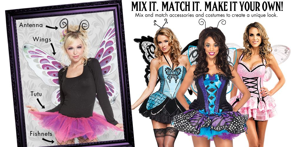 Butterfly Beauty Womens Mix & Match #1