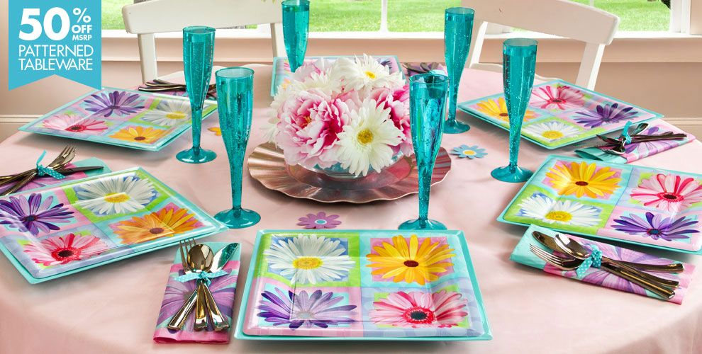 In Bloom Spring Party Supplies
