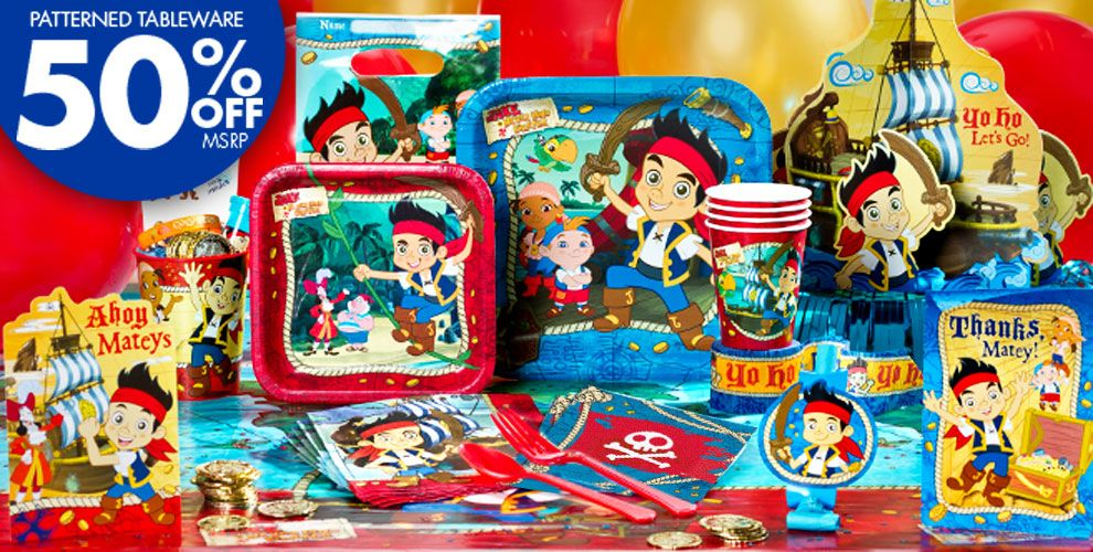 Decorating Ideas # Jake And The Never Land Pirates 1st Birthday Party