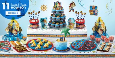 Jake and the Never Land Pirates Party Supplies Party City