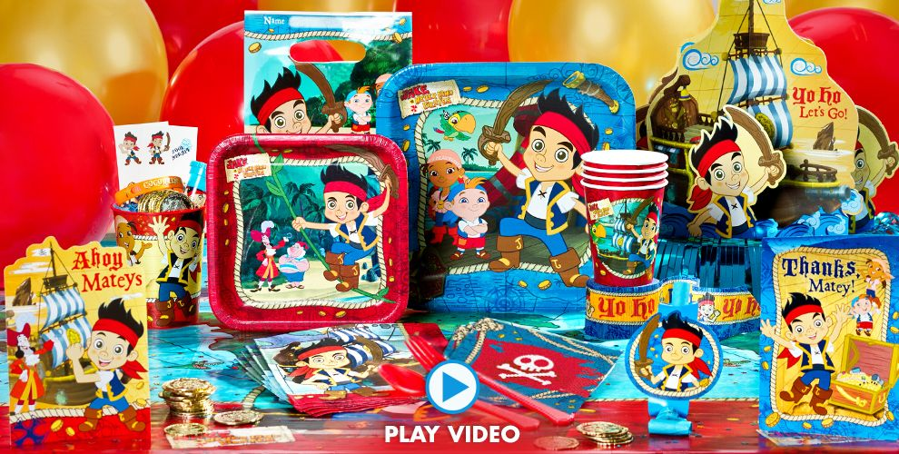 Jake and the Neverland Pirates Party Supplies #1