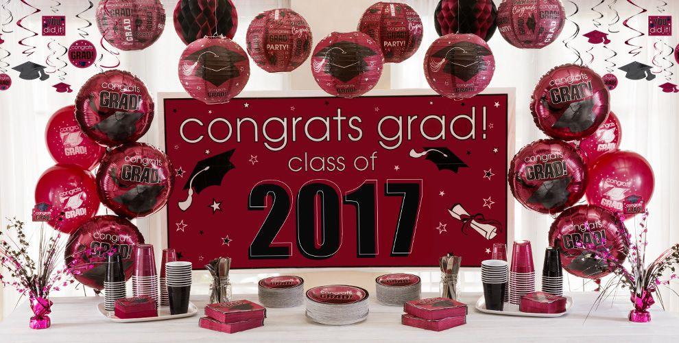 Congrats Grad Berry Graduation Party Supplies