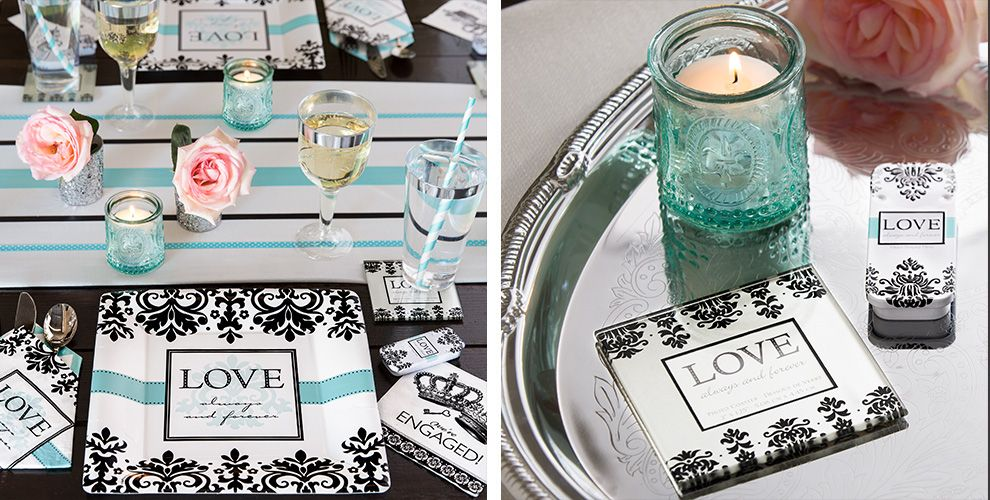Always & Forever Engagement Party Supplies