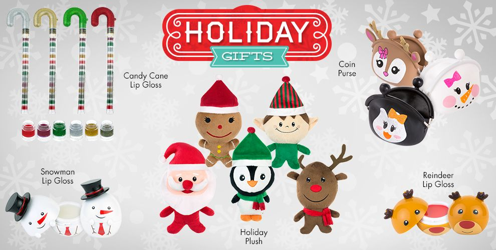Holiday Gifts - Holiday Plush Toys 2 for $4 Reg Price $2.99