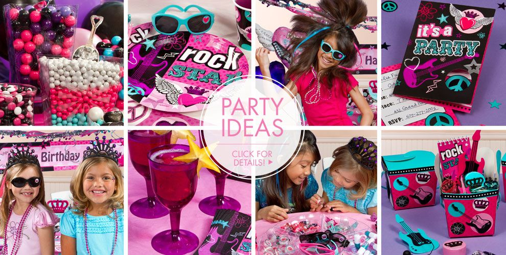 Rocker Girl – Party Ideas
