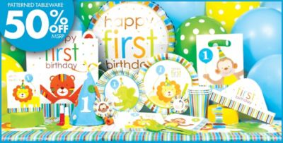 Boy Birthday Decorations Party City Image Inspiration of Cake and