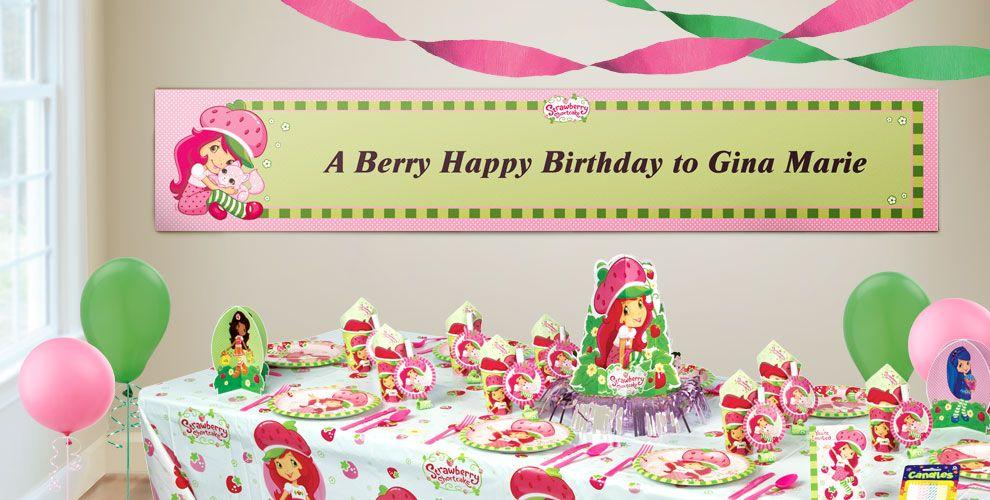 Strawberry Shortcake Custom Banner