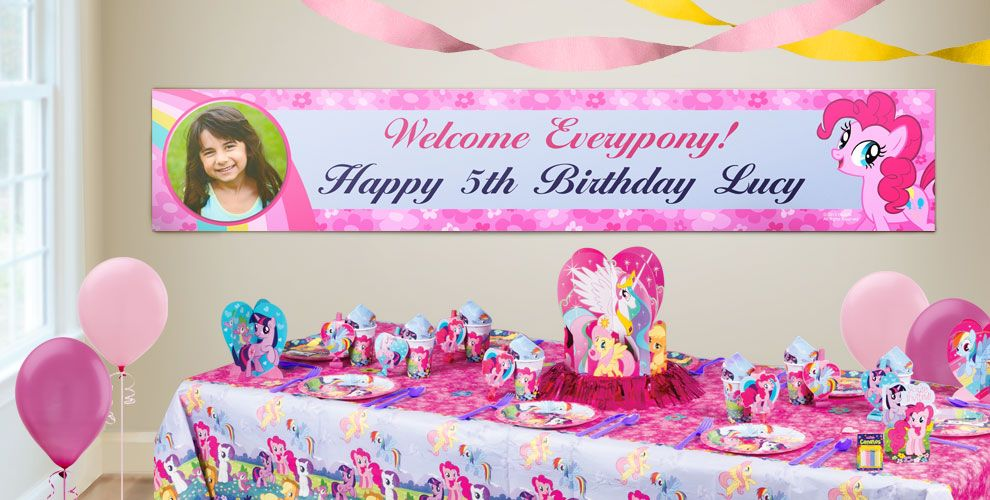 Custom My Little Pony Birthday Banners - Party City