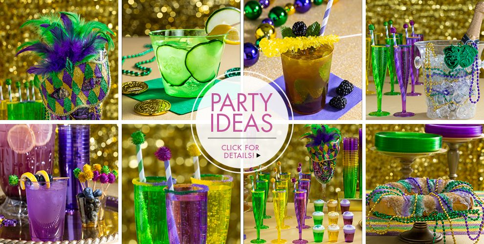 Mardi Gras Party Ideas – Click here for details