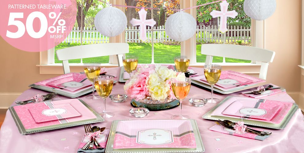 Girls Communion Blessings Party Supplies City