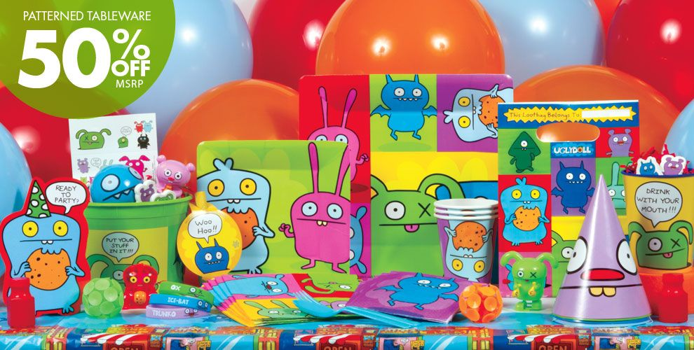 Ugly Doll Party Supplies