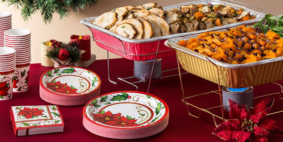 Holiday Chafing Dishes & Aluminum Pans #3