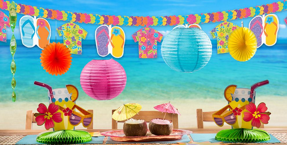 Summer Splash Party Supplies