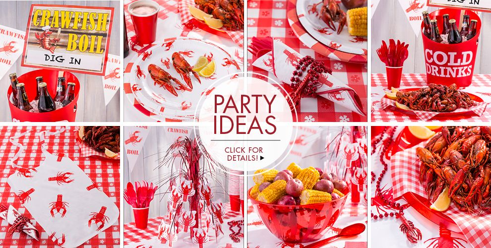 Crawfish Boil Party Ideas, Click For Details!