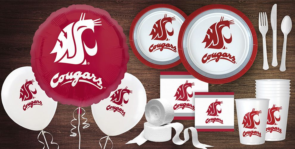Washington Cougars Party Supplies
