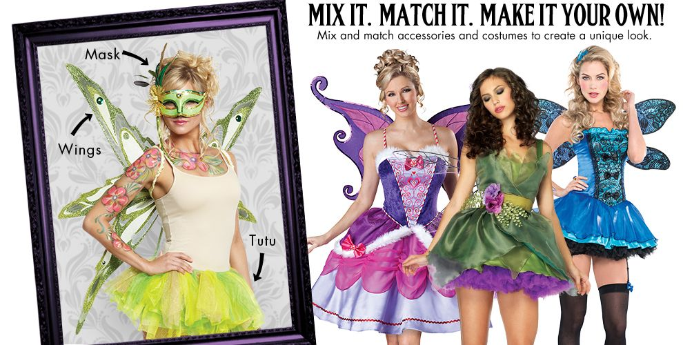 Woodland Fairy Womens Mix & Match #1