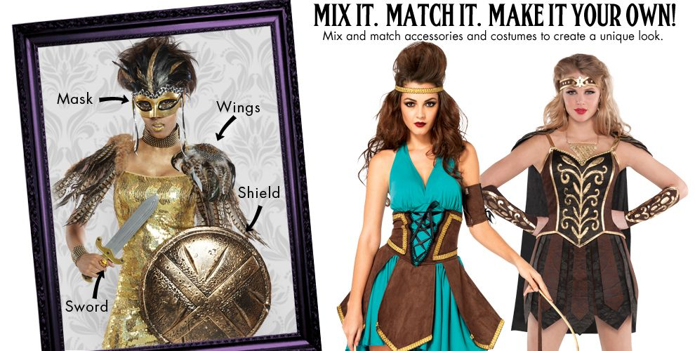 Warrior Goddess Womens Mix & Match #1